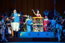 Elisir D'Amore Botero Dulcamara con elisir - Teatro La Maestranza Siviglia
