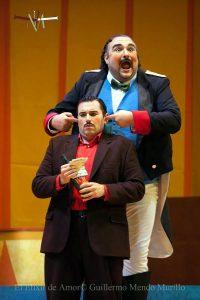 Elisir D'Amore Botero Nemorino Dulcamara - Teatro La Maestranza Siviglia