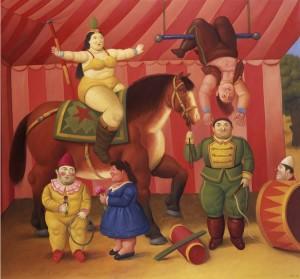 Fernando Botero - Gente del Circo