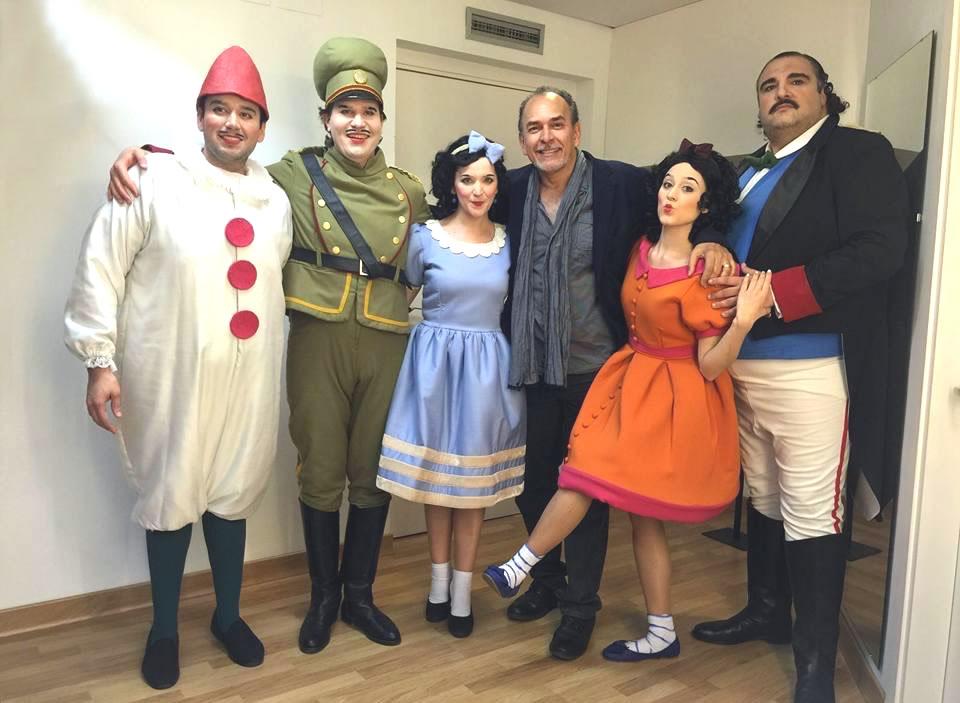 Cast Elisir D'Amore Botero Teatro Della Maestranza