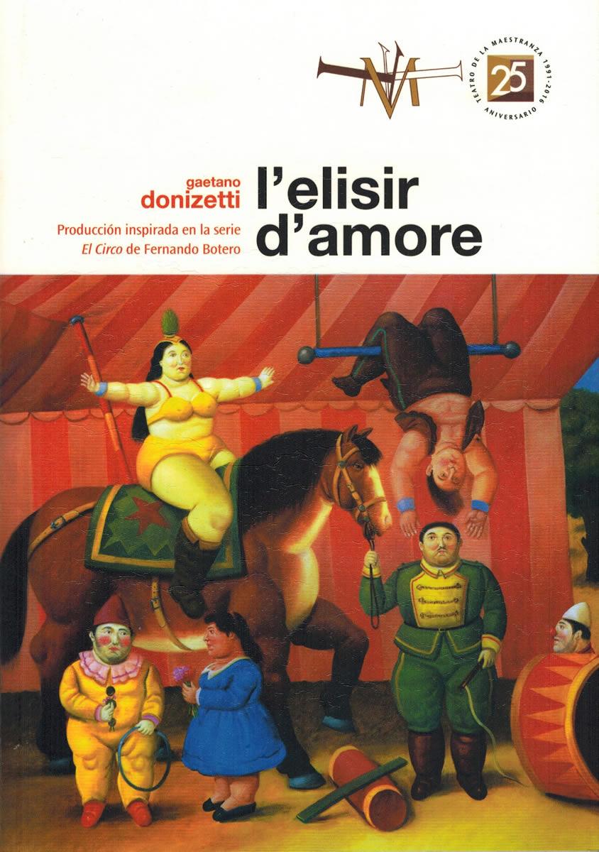 Libretto Elisir D'Amore a Siviglia